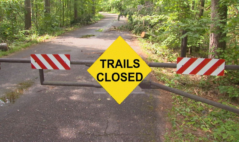 Trails Closed